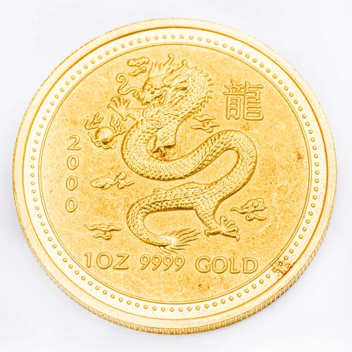 Dragon Gold Coin