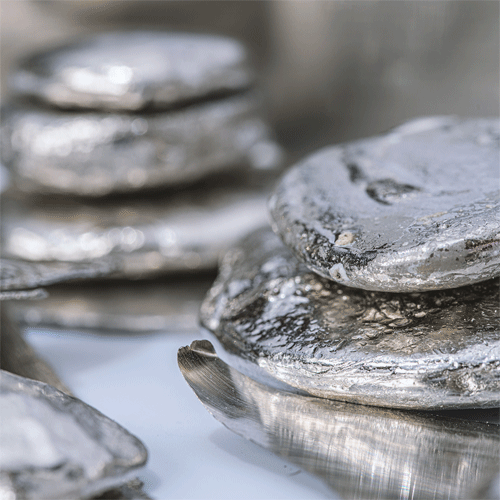 Melted Silver